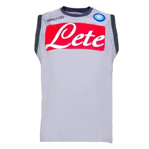 [Order] 14-15 Napoli Official Polyester Sleeveless Tee - Grey