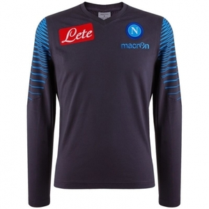 [Order] 14-15 Napoli Official LS T-Shirt - Dark Grey