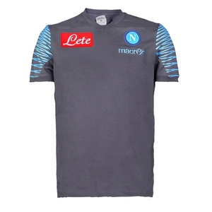 [Order] 14-15 Napoli Official T-Shirt - Dark Grey