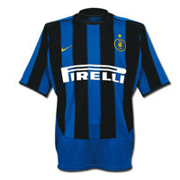 03-04 Inter Milan Home + 32 VIERI + 세리에 A 패치 (Size:M)