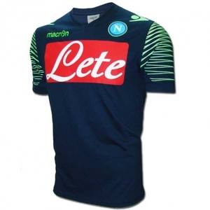 [Order] 14-15 Napoli Pre-Match Training Shirt - Navy/Green