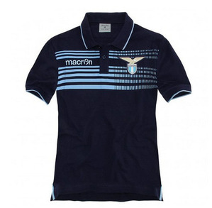 [Order] 14-15 Lazio Official Cotton Polo Shirt - Navy