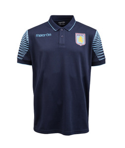 [해외][Order] 14-15 Aston Villa Polo Shirt - Navy