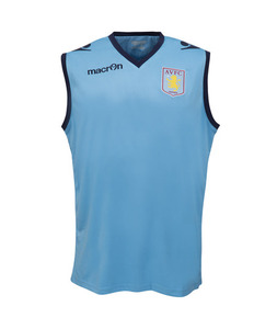 [해외][Order] 14-15 Aston Villa Sleeveless Training Vest - Blue