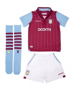 [해외][Order] 14-15 Aston Villa Home - INFANTS KIT