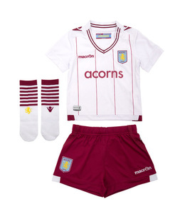 [해외][Order] 14-15 Aston Villa Away - INFANTS KIT