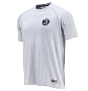 [Order] 14-15 PSG Select SS Smls Training Top - Light Grey/White