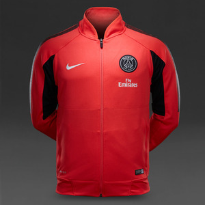 [Order] 14-15 PSG Select Sideline Knit Jacket - Daring Red/Daring Red/Pure Platinum