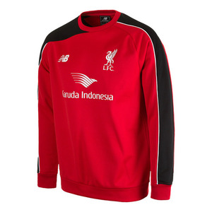 [해외][Order] 15-16 Liverpool(LFC) Boys Junior Training Sweat  (High Risk Red) - KIDS