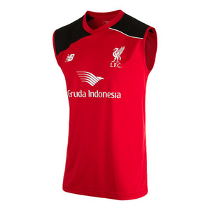 [해외][Order] 15-16 Liverpool(LFC) Training Vest - High Risk Red