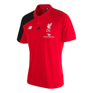 [해외][Order] 15-16 Liverpool(LFC) Boys Training Polo (High Risk Red) - KIDS