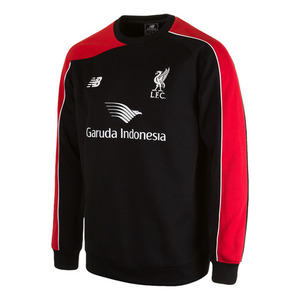 [해외][Order] 15-16 Liverpool(LFC) Training Sweat - Black