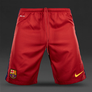 [해외][Order] 15-16 FC Barcelona Boys Home Shorts - KIDS