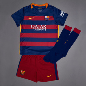 [해외][Order] 15-16 FC Barcelona Home Little Boys Kit - Little Boys