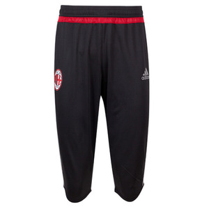 [해외][Order] 15-16 AC Milan 3/4 Pants - Black/Solid Grey/Victory Red