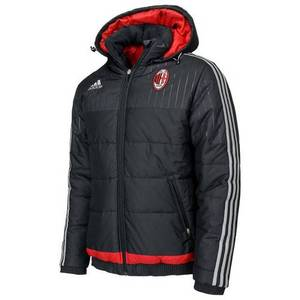 [해외][Order] 15-16 AC Milan Padded Jacket - Black/Solid Grey/Victory Red