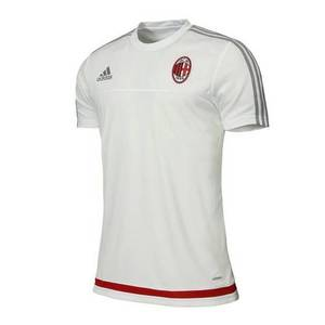 [해외][Order] 15-16 AC Milan Training Jersey (Core White/Solid Grey/Victory Red) - adizero