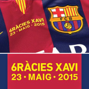 XAVI Testimonial Match day Transfer (MDT) - 싸비 은퇴 경기 MDT / For 14-15 Barcelona