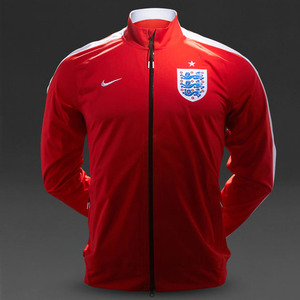 [Order] 14-15 England N98 Anthem Track Jacket - Red/Wht