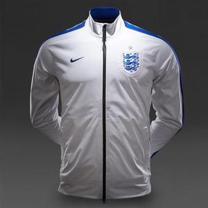 [Order] 14-15 England N98 Anthem Track Jacket - Wht/Royal