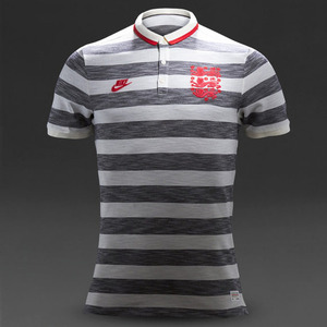 [Order] 14-15 England League Covert Polo - Pearl/Obsid/Red