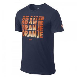 [Order] 14-15 Netherlands (Holland/KNVB) Core Type Tee - Navy