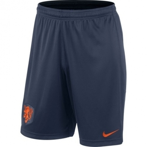 [Order] 14-15 Netherlands (Holland/KNVB) Longer Knit Shorts - Navy
