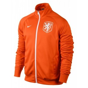 [Order] 14-15 Netherlands (Holland/KNVB) Core Trainer Jacket - Orange