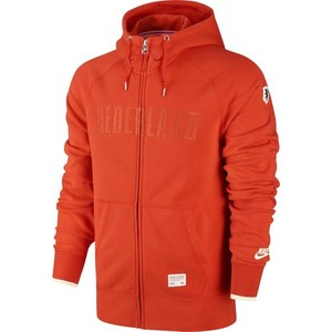 [Order] 14-15 Netherlands (Holland/KNVB) AW77 Full Zip Authentic Hoody - Orange