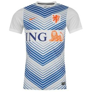 [Order] 14-15 Netherlands (Holland/KNVB) Pre-Match Training Jersey - White