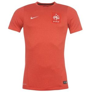 [Order] 14-15 France (FFF) Training Shirt - Red
