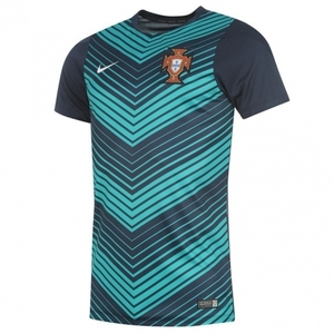 [Order] 14-15 Portugal(FPF) Pre-Match Training Jersey - Navy
