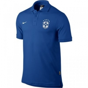 [Order] 14-15 Brasil (CBF) Core Polo Shirt - Blue