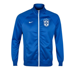 [Order] 14-15 Brasil (CBF) Core Trainer Jacket - Blue