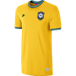 [Order] 14-15 Brasil (CBF) Covert Retro Jersey - Yellow