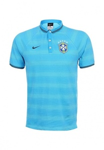 [Order] 14-15 Brasil (CBF) Authentic League Polo Shirt - Blue