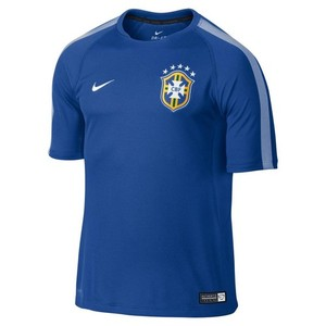[Order] 14-15 Brasil (CBF) Training Shirt - Blue