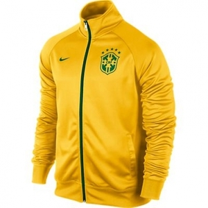 [Order] 14-15 Brasil (CBF) Core Trainer Jacket - Yellow