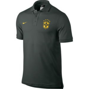 [Order] 14-15 Brasil (CBF) Core Polo Shirt - Black