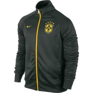 [Order] 14-15 Brasil (CBF) Core Trainer Jacket - Black