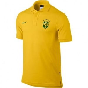 [Order] 14-15 Brasil (CBF) Core Polo Shirt - Yellow
