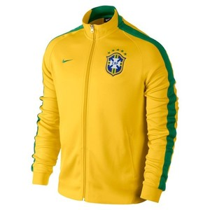 [Order] 14-15 Brasil (CBF) Authentic N98 Jacket - Yellow