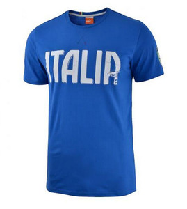 [Order] 14-15 Italy (FIGC) Graphic T-Shirt (Blue) - KIDS
