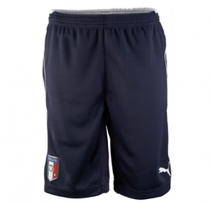 [Order] 14-15 Italy (FIGC) Training Shorts - Navy
