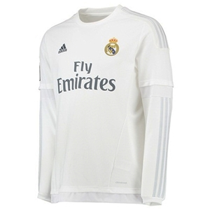 [해외][Order] 15-16 Real Madrid (RCM) Home L/S - KIDS