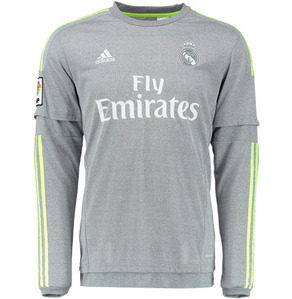 [해외][Order] 15-16 Real Madrid (RCM) Away L/S - KIDS