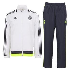 [해외][Order] 15-16 Real Madrid (RCM) Presentation Track Suit - White