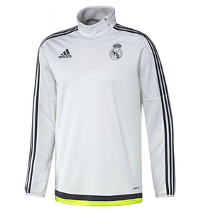 [해외][Order] 15-16 Real Madrid (RCM) Training Top (White) - KIDS