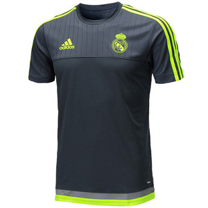 15-16 Real Madrid (RCM) Training Jersey (Grey) - adizero