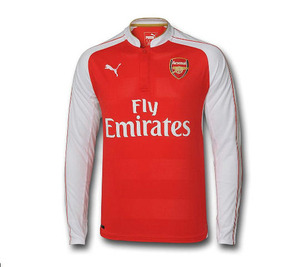 [해외][Order] 15-16 Arsenal Boys Home L/S - KIDS
